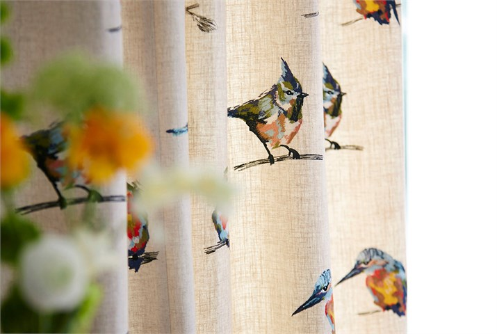 6-harlequin-fabrics-fauvisimo-persico-orange-green-embroidery-british-bird-curtains-luxury-painterly-design-contemporary-weave-cushion
